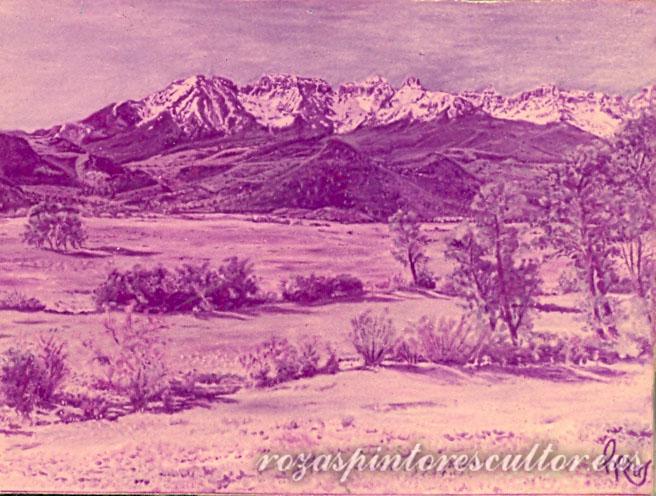 1960 Landscape 90x66
