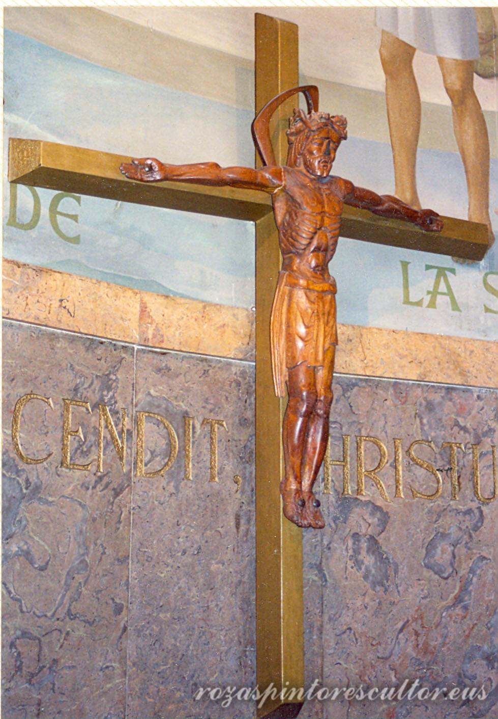 1965 Cristo en La Salle