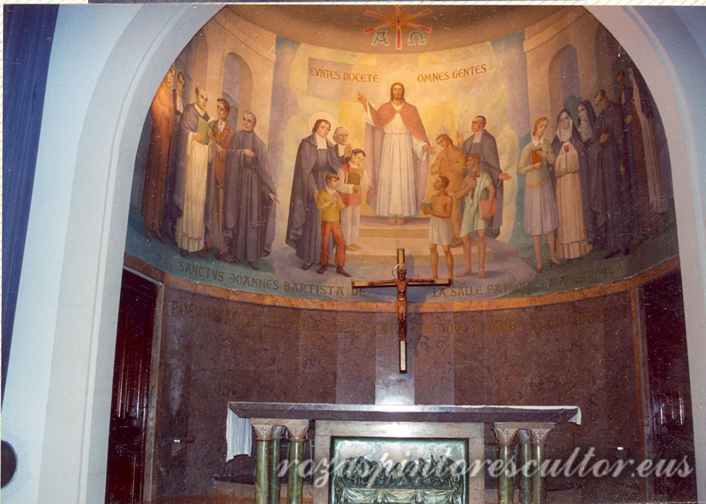 1965 Cristo en La Salle 3