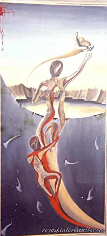 1966 Danza hiperbolica 60x90