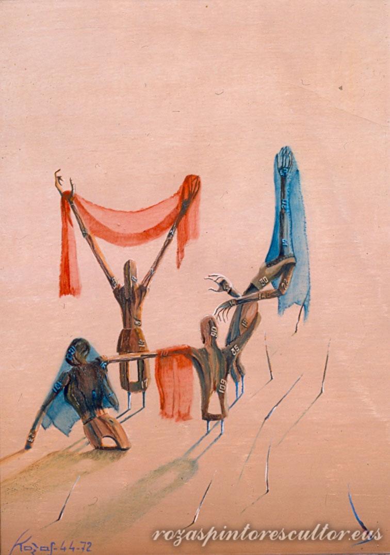 1972 Allegory II 45x35