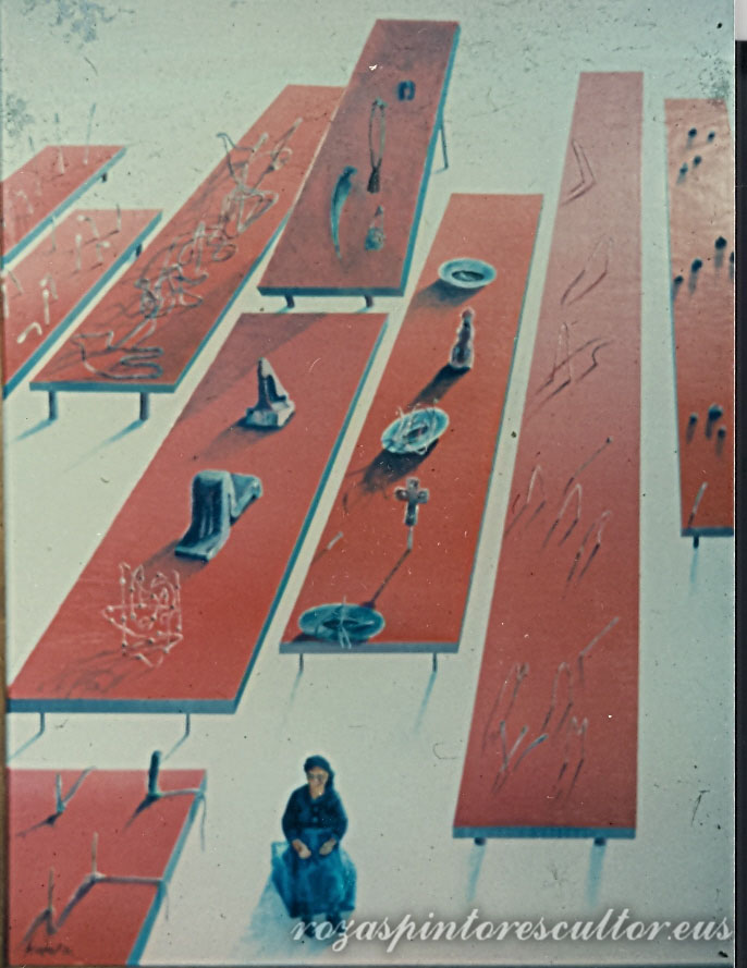 1974 La cacharrera 90x60