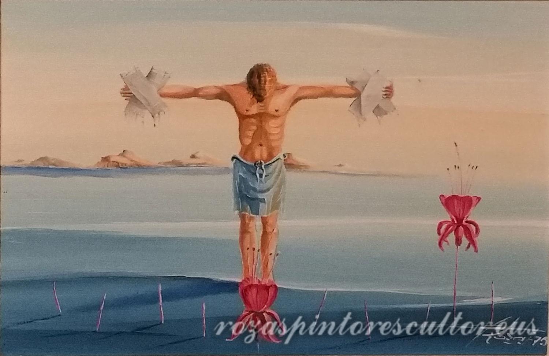 1975 El Cristo de los Esparadrapos 45x35