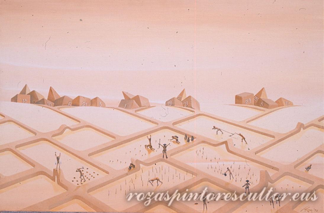 1976 Campo de concentracion 90x60