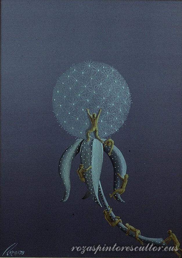 1978 Allegory V 45x35