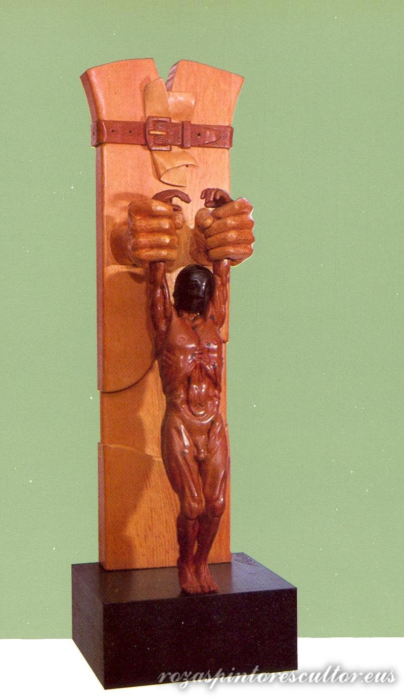 1978 Figura para una fe 92x30x30