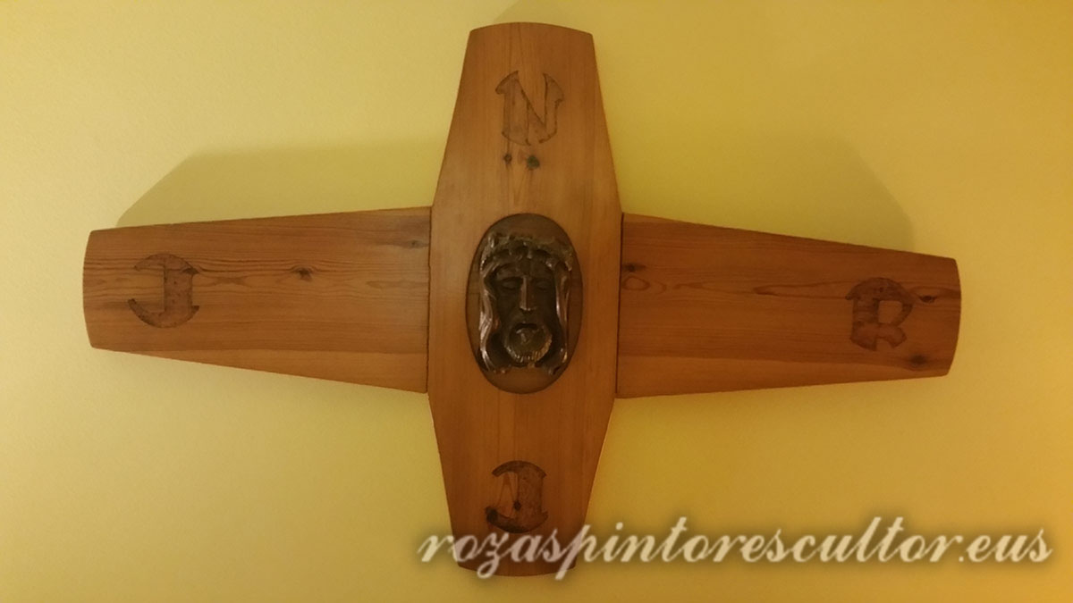1980 Crucifijo 50x50x5