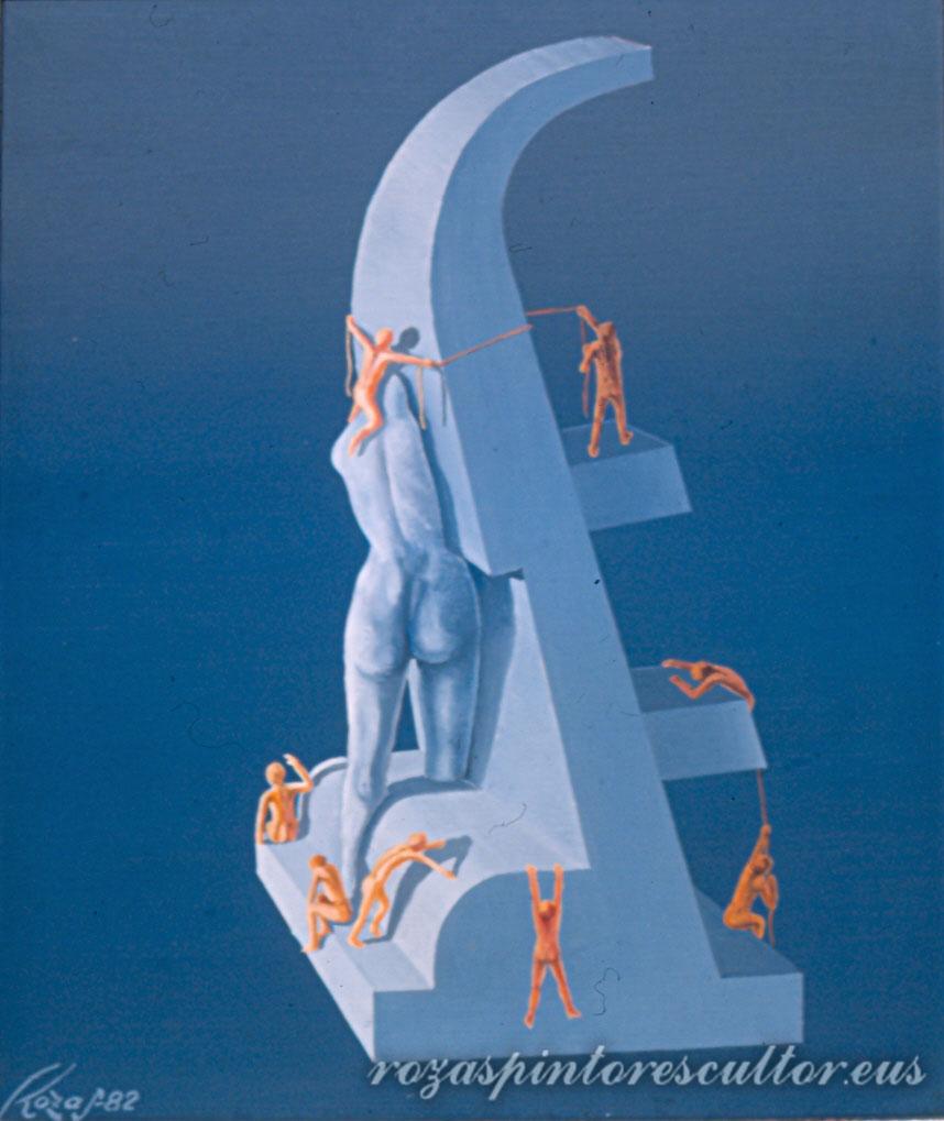 1982 Alegoria VII 45x35