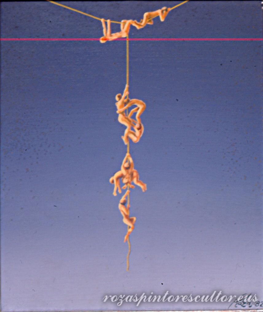 1982 Equilibrium II 45x35