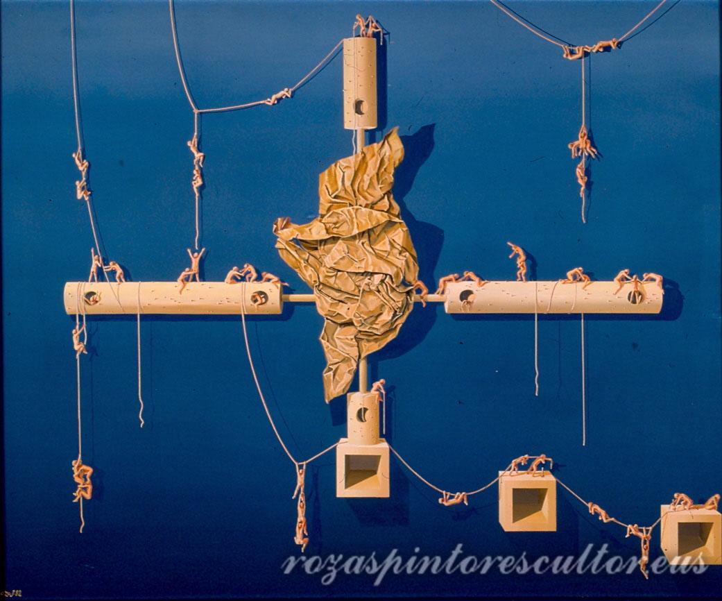 1982 Gaurko profeta batentzako alegoria 120x100