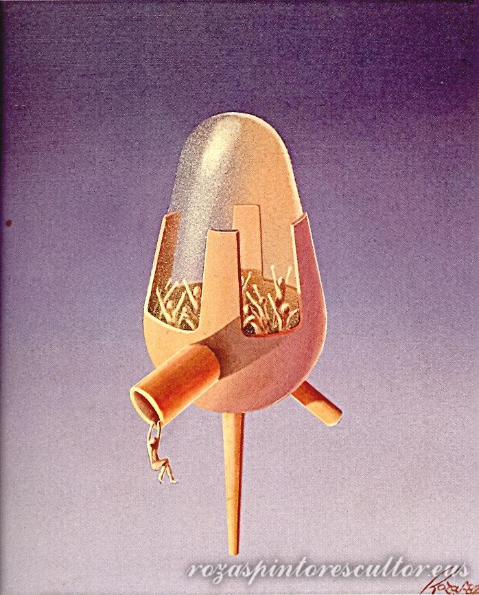 1982 Gizarte etxola II 45x40