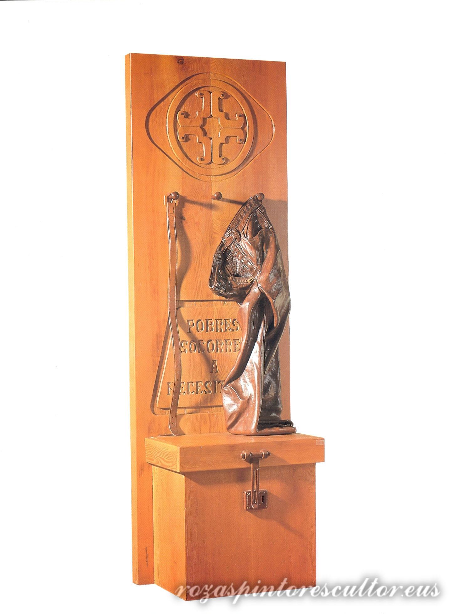 1983 Aldarerik gabeko katedral baterako alegoria 205x68x44