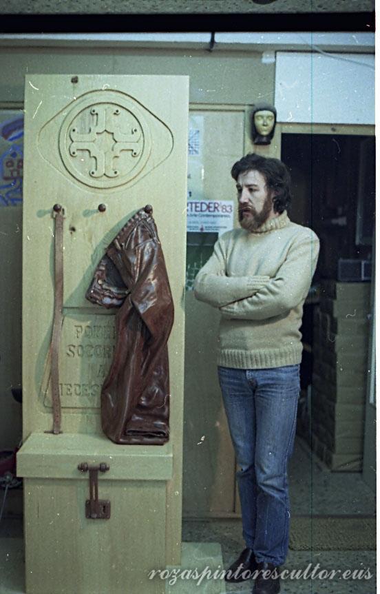 1983 Alegoria para una catedral sin altar - detalle II