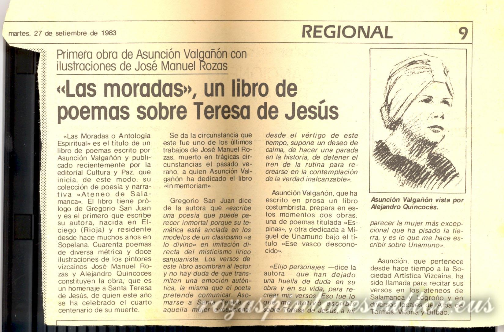 1983 Las moradas - critica