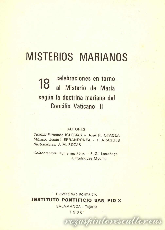 Marian Misterioak