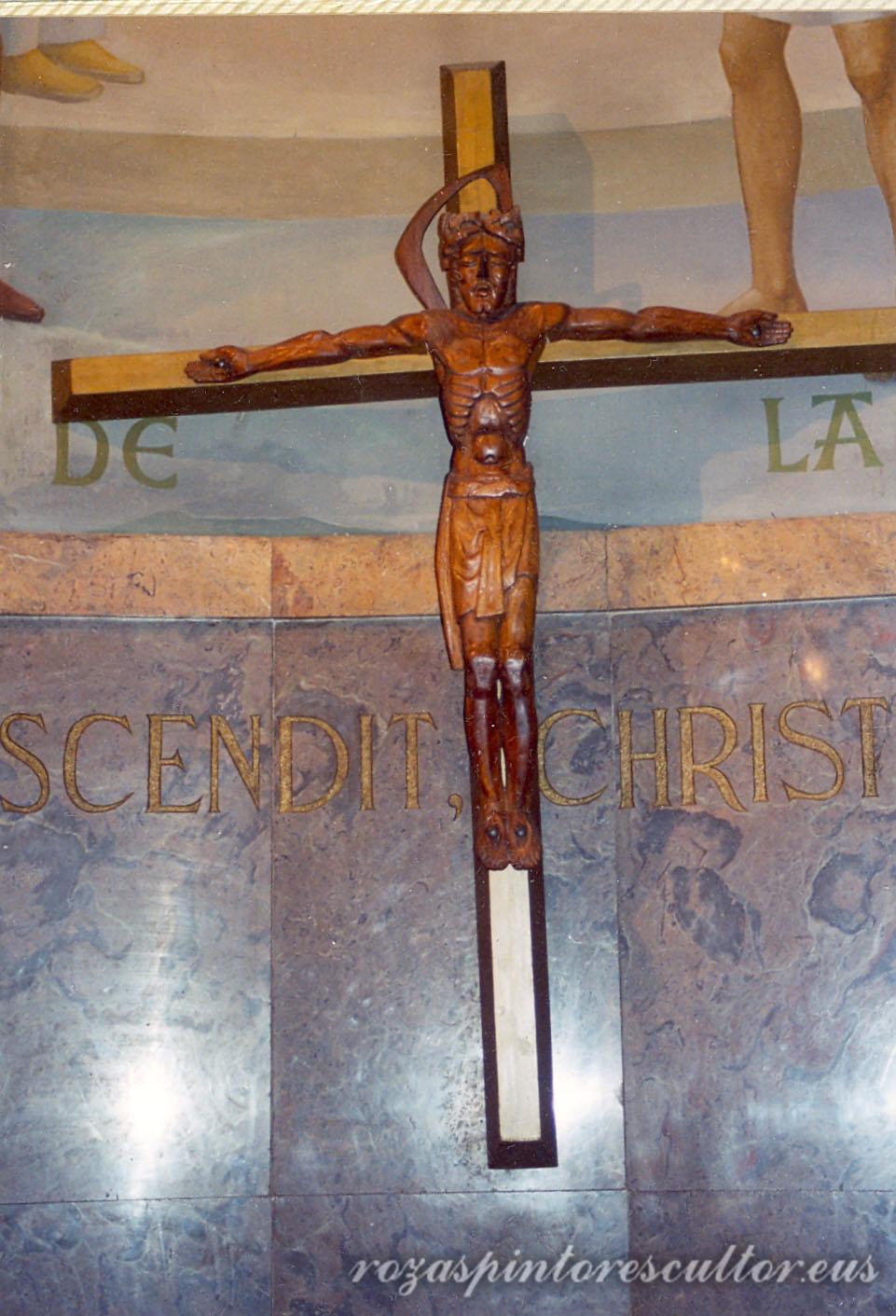 1965 Cristo en La Salle 2