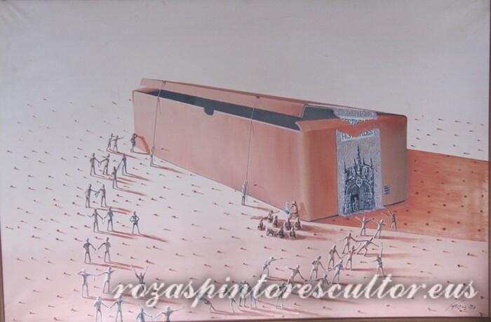 1974 The jail 90x65