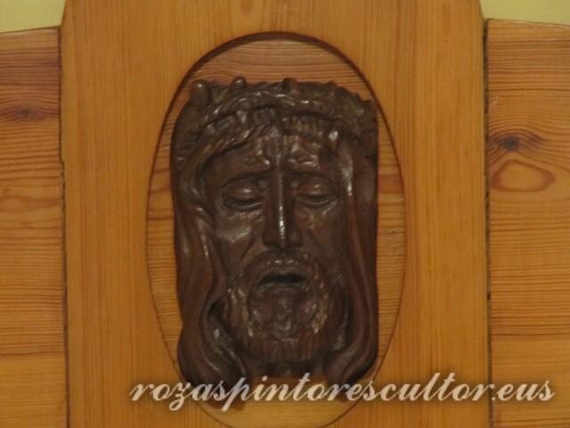 1980 Crucifix 50x50x5 - Detail