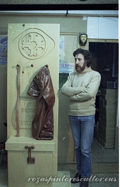 1983 Aldarerik gabeko katedral baterako alegoria 205x68x44 - Xehetasuna II